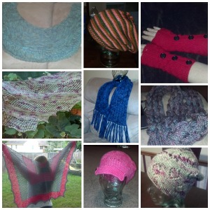 Summer Knitting Collage